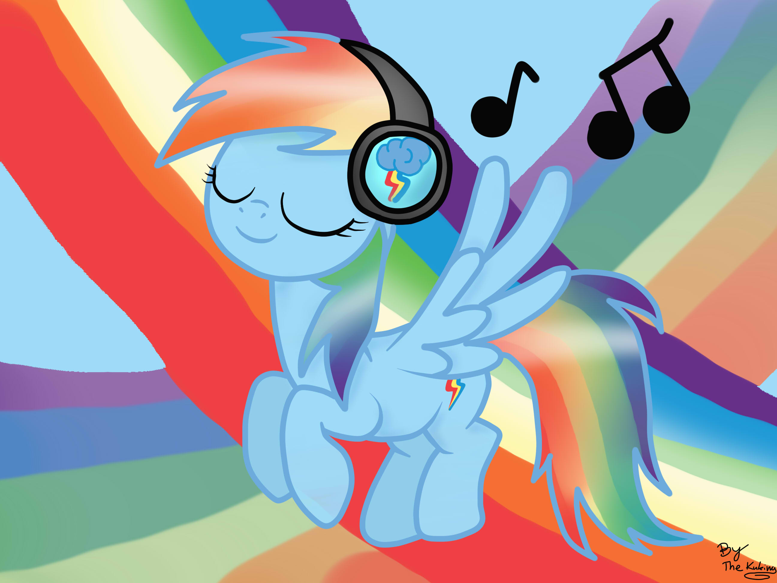 my little pony rainbow dash music