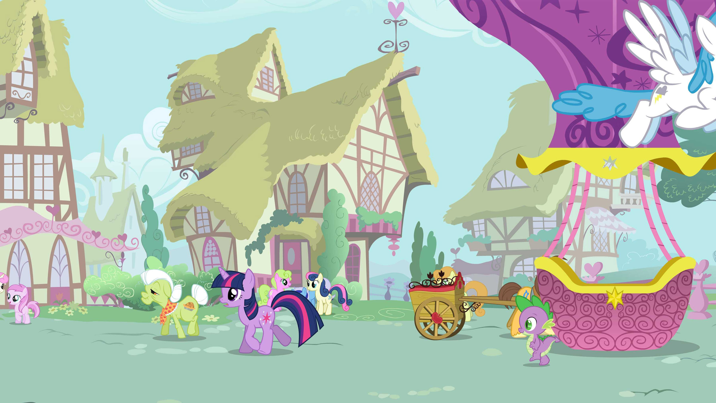 my little pony village