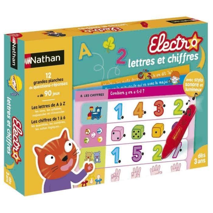 nathan electro lettres et chiffres