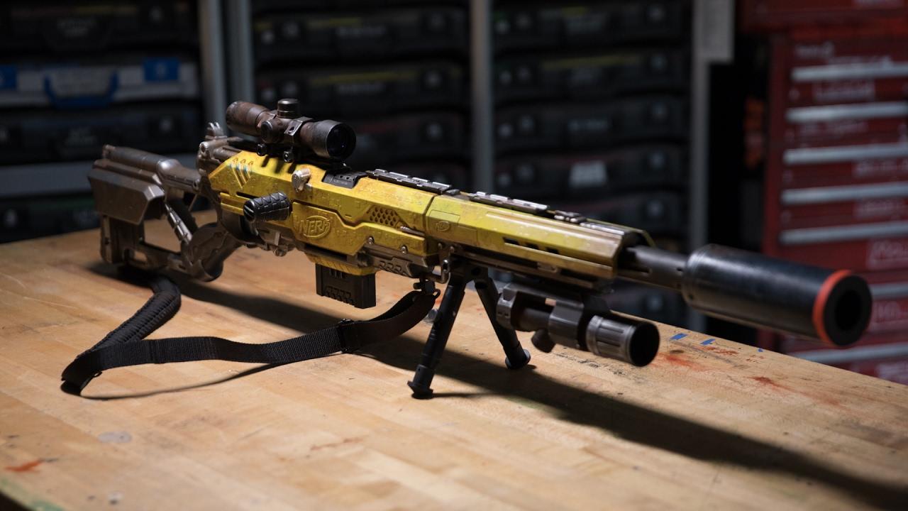 nerf sniper custom