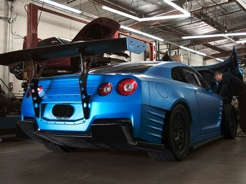nissan skyline fast and furious 7