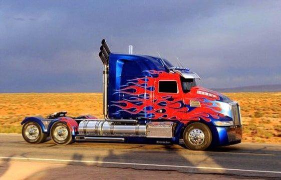 optimus prime camion