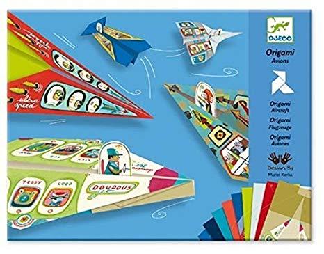 origami avion djeco