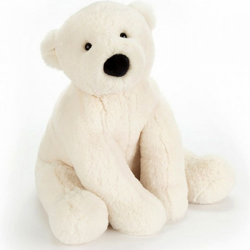 ours blanc peluche