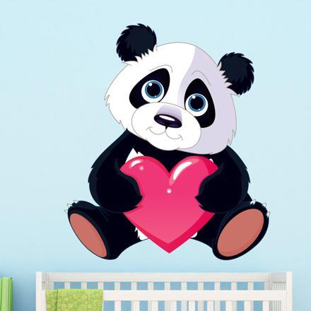 panda coeur