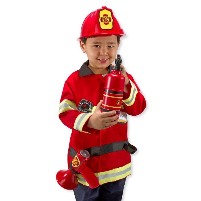 panoplie pompier 3 ans