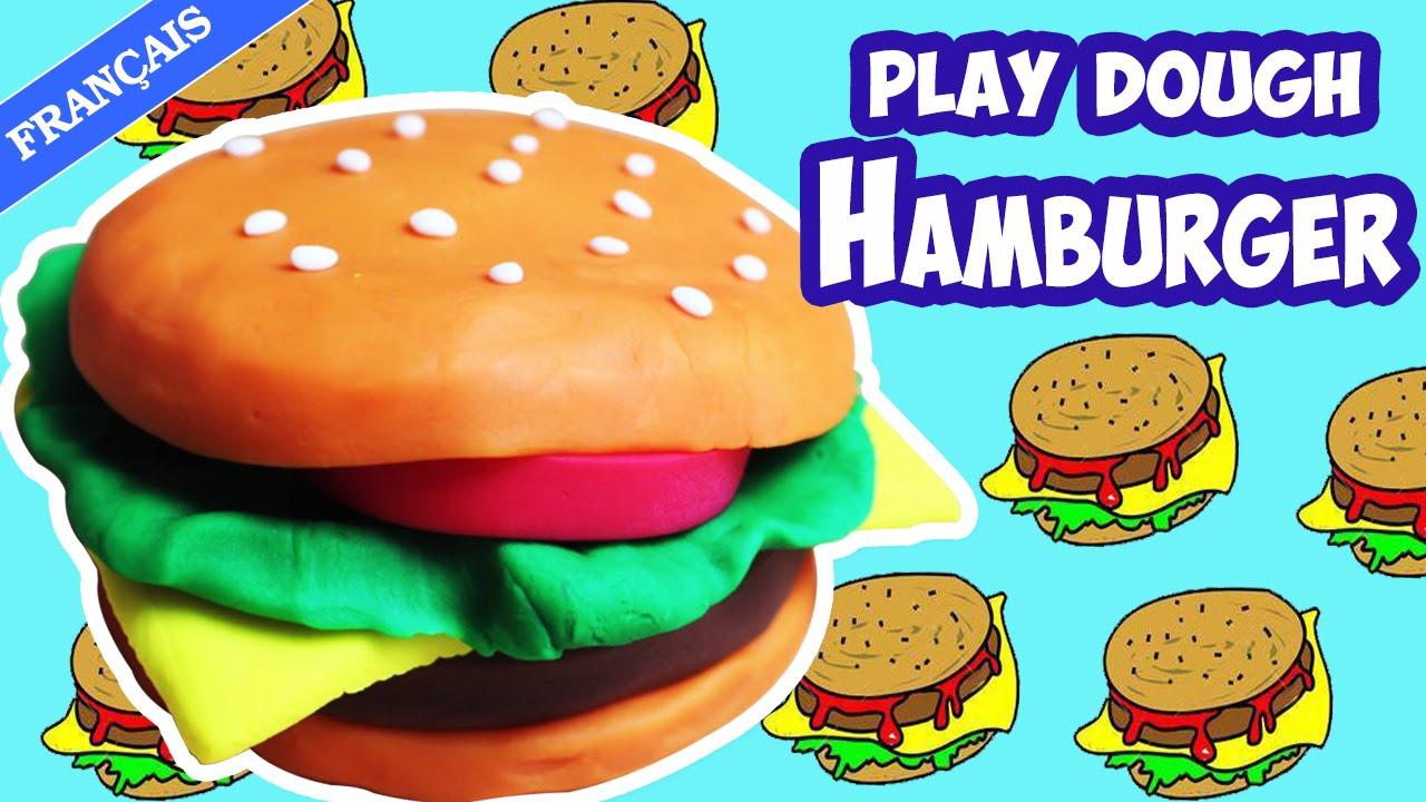 pâte à modeler hamburger