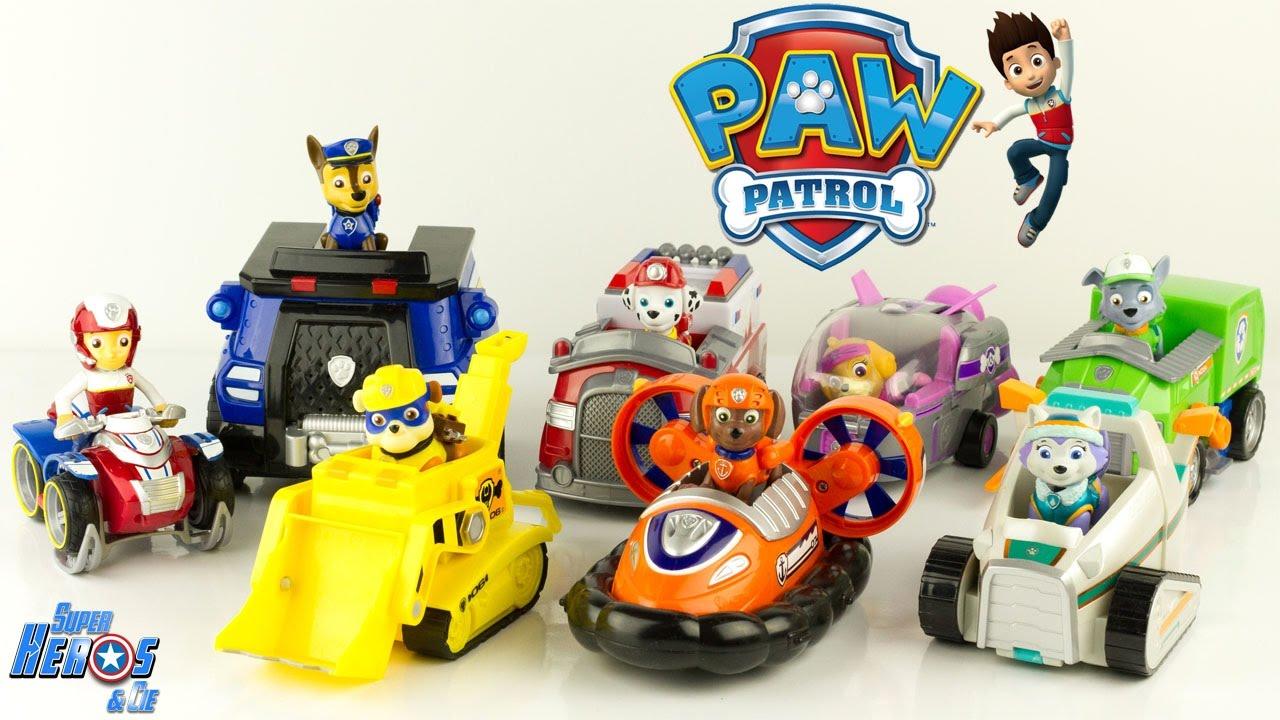 patte patrouille jouet