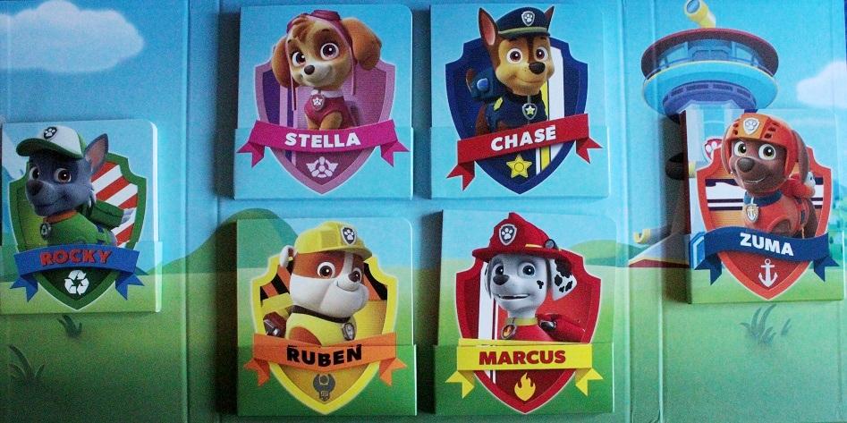 paw patrol nom des chiens
