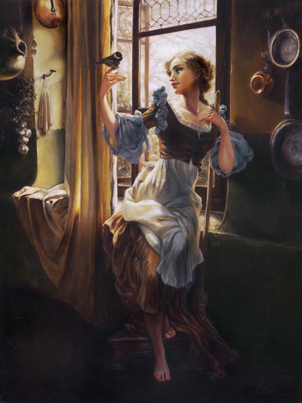 peinture princesse disney