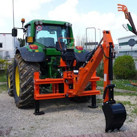 pelle tracteur