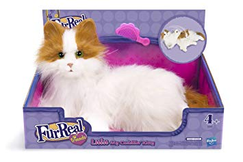 peluche chat interactif hasbro