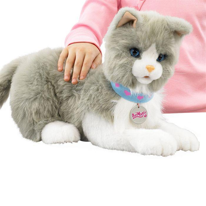 peluche chat interactif
