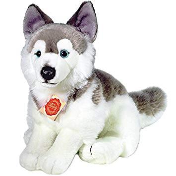 peluche chien husky