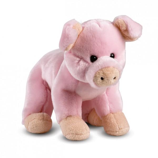 peluche cochon rose