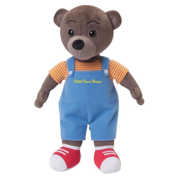 peluche petit ours brun