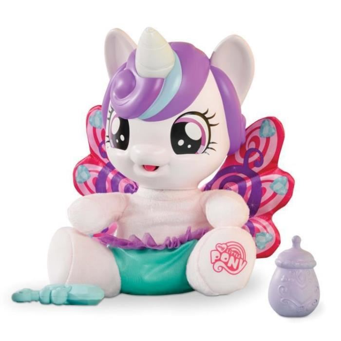 peluche poney interactif