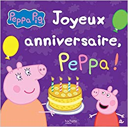 peppa pig anniversaire