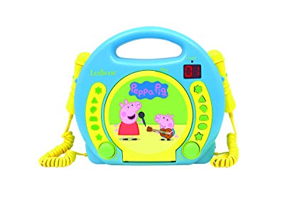 peppa pig cd player