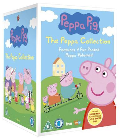 peppa pig dvd set