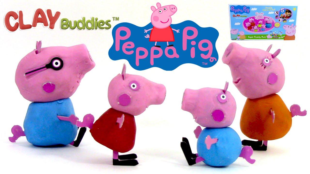 peppa pig en pâte à modeler