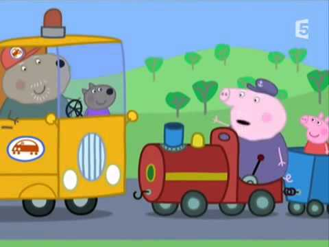 peppa pig le petit train
