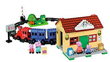 peppa pig train set