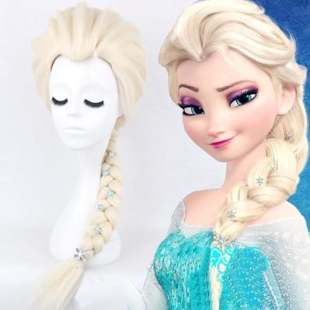 perruque la reine des neiges