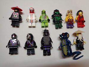 personnage ninjago lego