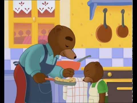 petit ours brun cuisine