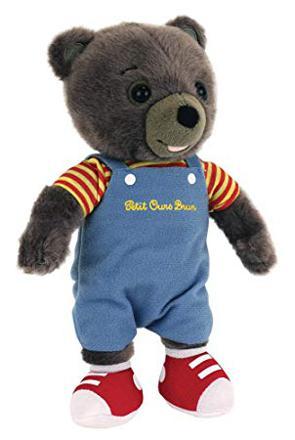 petit ours brun peluche
