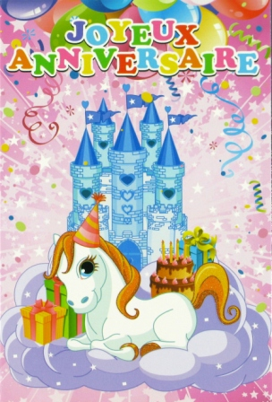 petit poney anniversaire