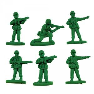 petits soldats en plastique