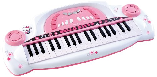 piano hello kitty