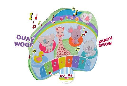 piano sophie la girafe