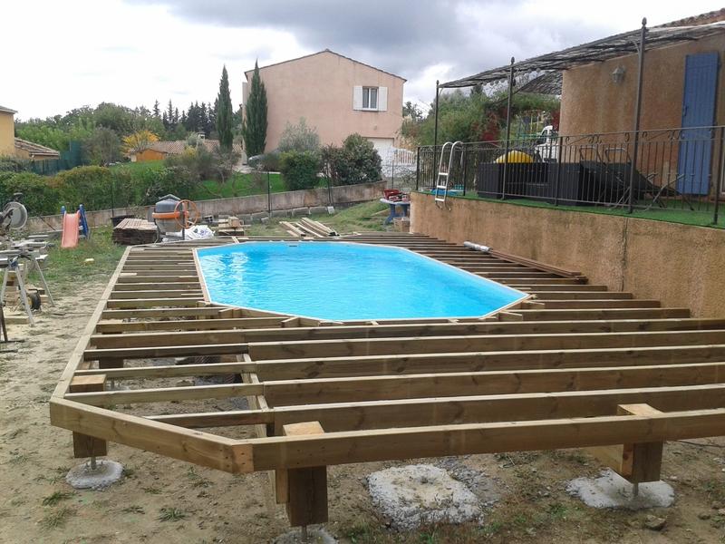 piscine bois destockage