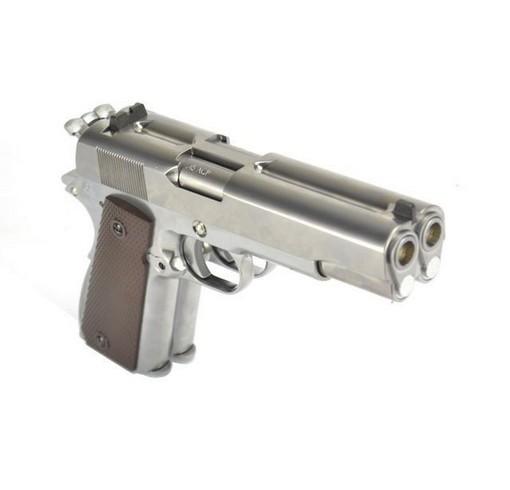 pistolet double canon
