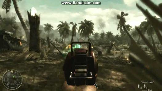 pistolet laser world at war