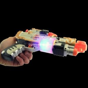 pistolet lumineux jouet