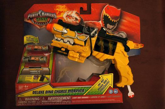 pistolet power rangers dino charge