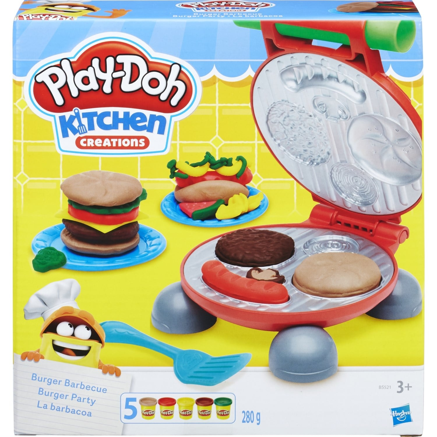 play doh burger