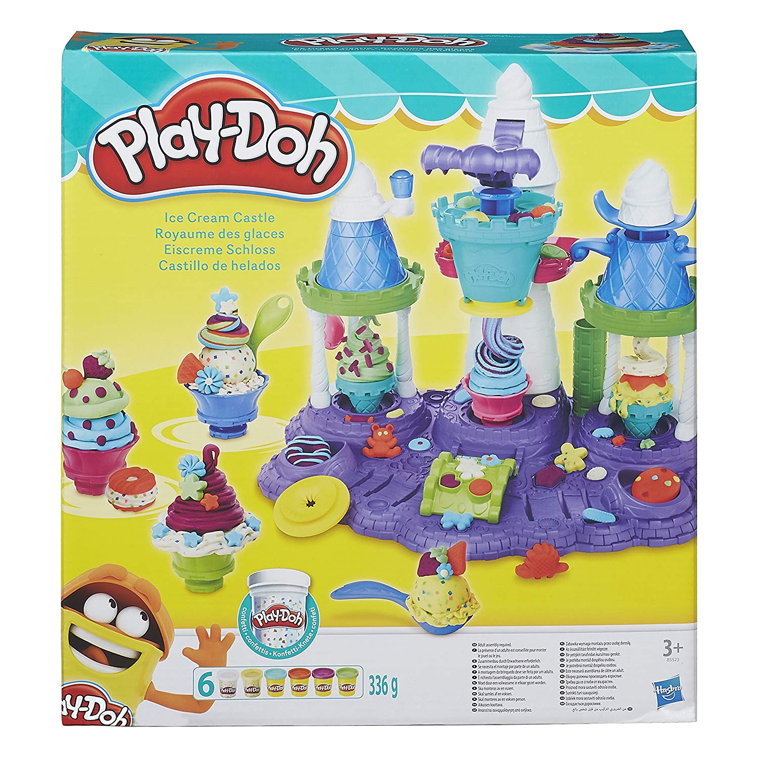 play doh royaume des glaces