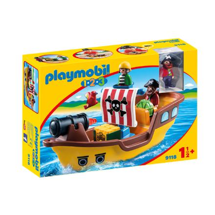 playmobil 123 bateau