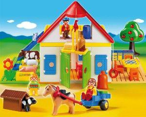 playmobil 123 grande ferme