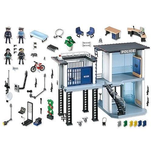 playmobil 5182 commissariat de police