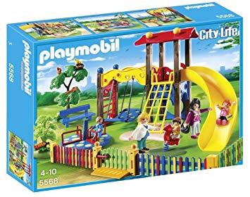 playmobil aire de jeux