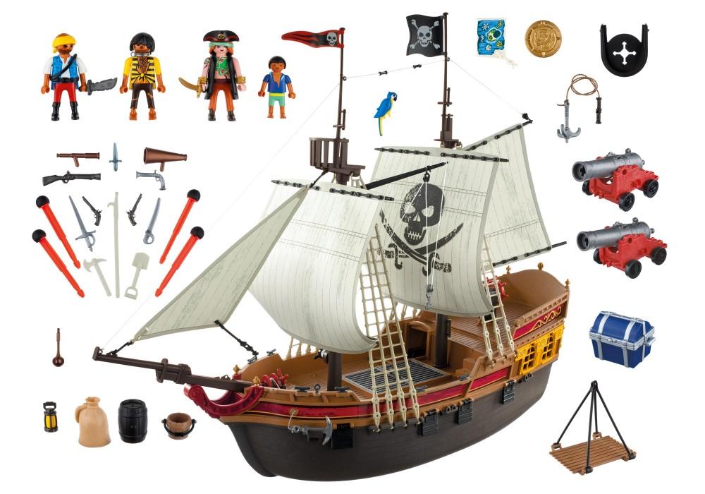playmobil bateau de pirate