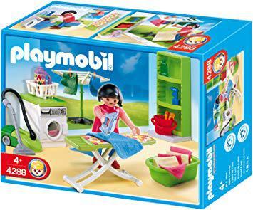 playmobil buanderie
