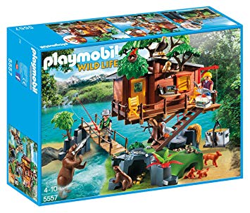 playmobil cabane aventurier