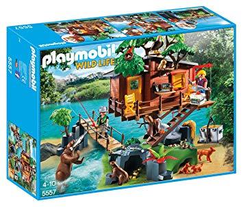 playmobil cabane des aventuriers